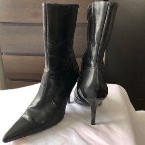 Aldo Pointed Toe Zip up Boot